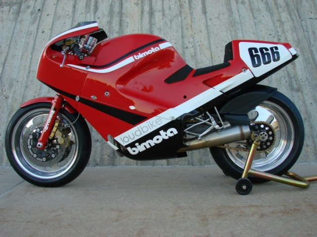 1986 Bimota DB1 Track Bike L Side