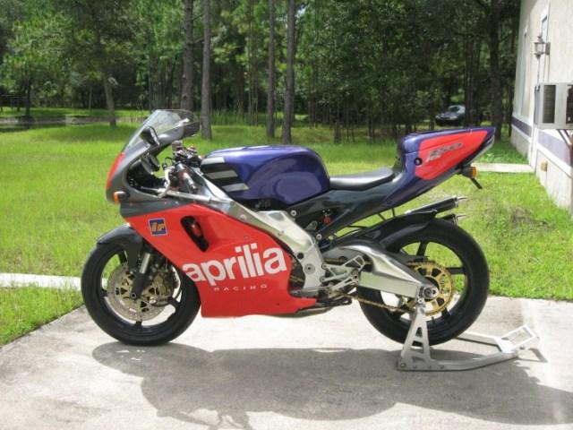 1995 Aprilia RS250 L Side