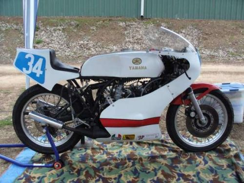 1978 Yamaha TZ350 R Side