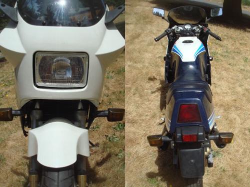 1986 Suzuki RG250 Front