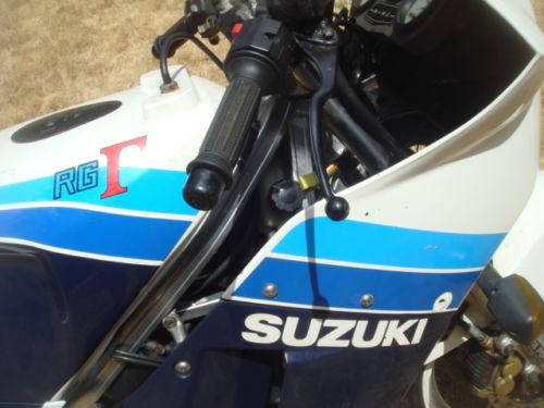 1986 Suzuki RG250 L Side Detail