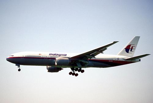 Flight MH17 photo