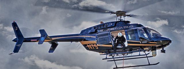 Delaware State Police chopper in sky – THE CHESAPEAKE TODAY