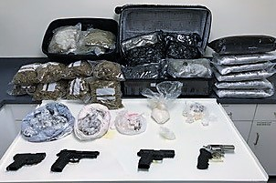HEROIN HIGHWAY TO HELL – Drugs, money, and guns swept up