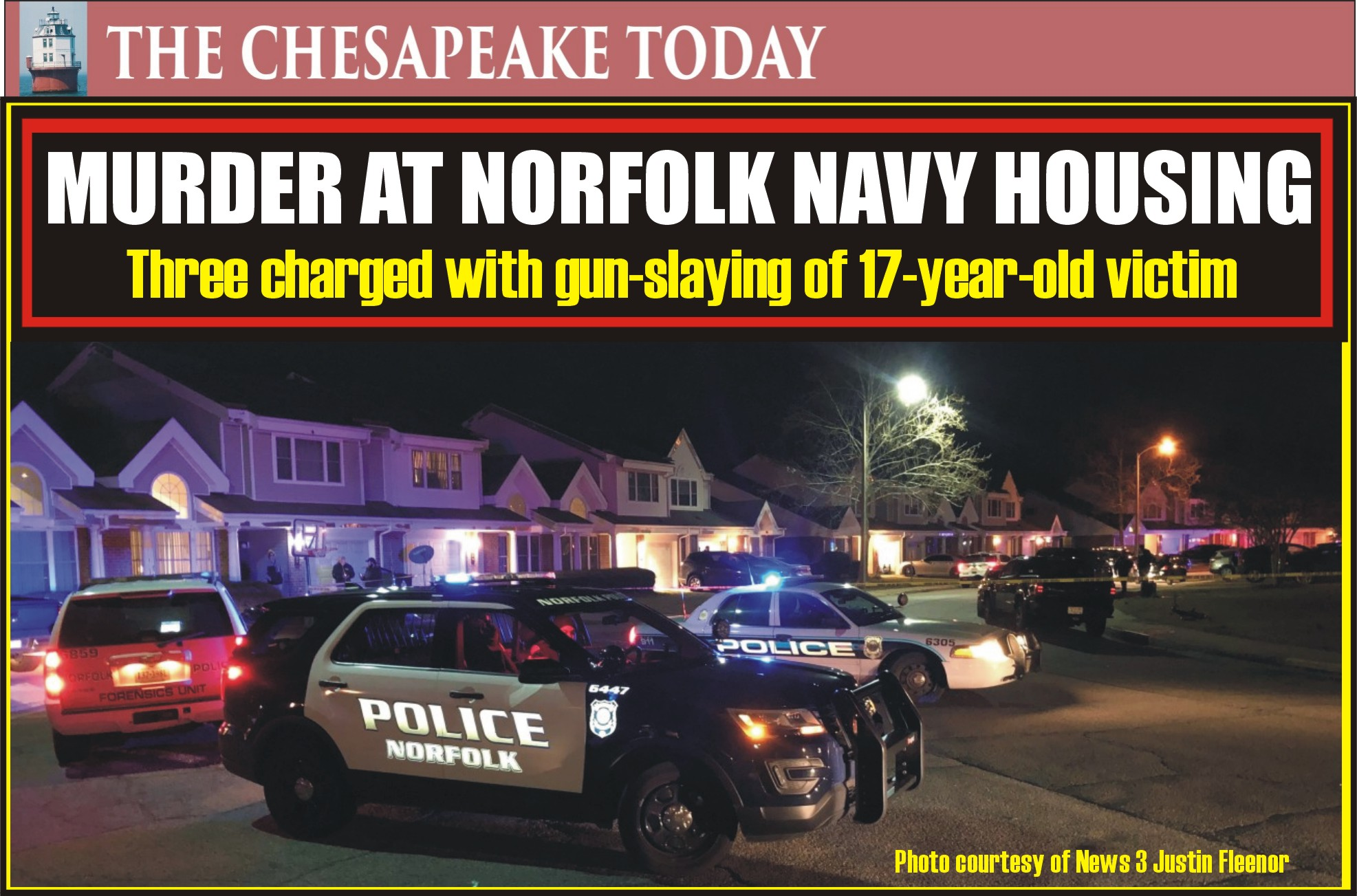 MURDER USA: Rahzell Washington, Quataisia Thompson, and Sarah Bowen arrested in connection to the homicide of teenager at Norfolk Navy Housing Center