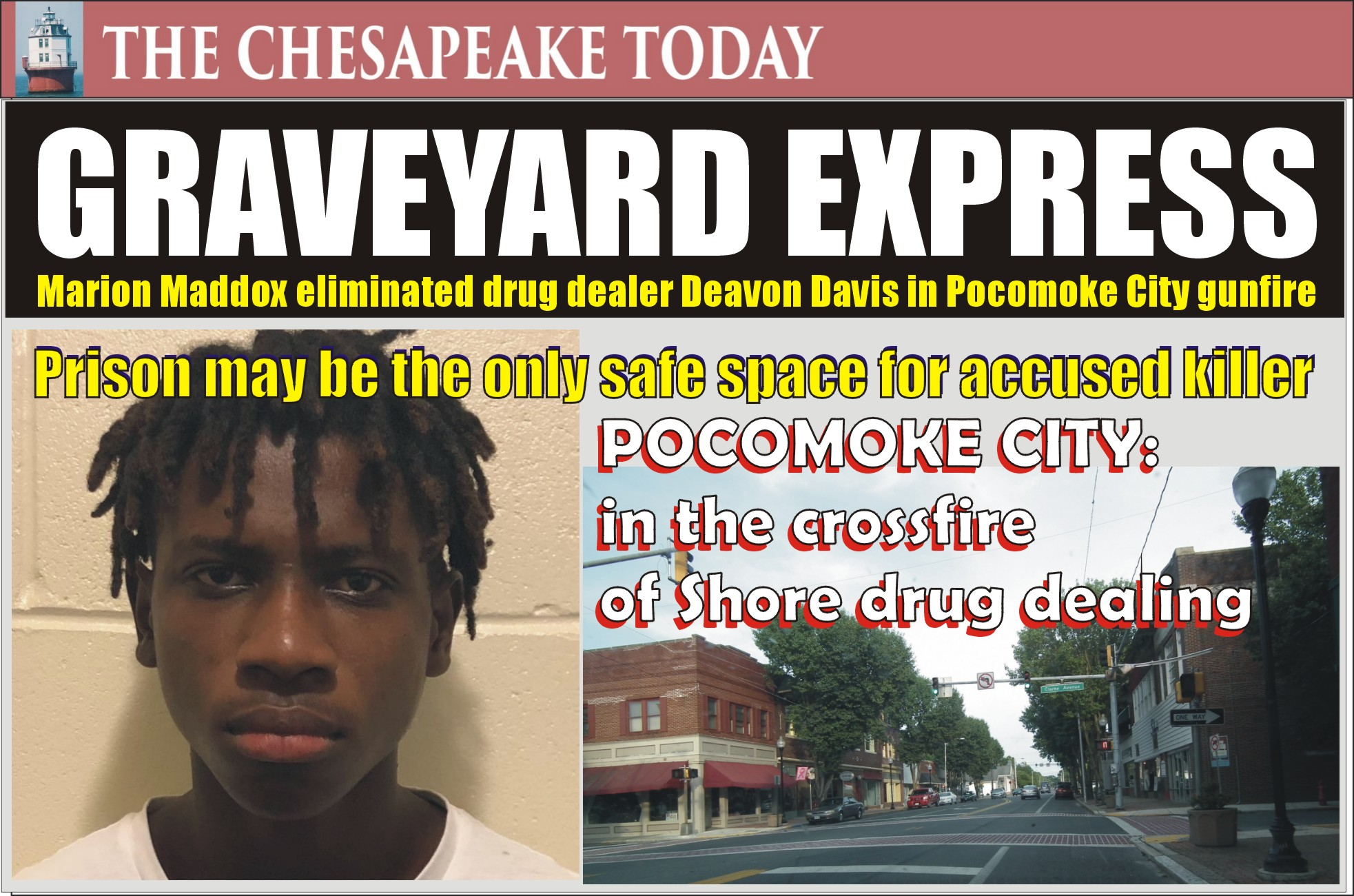 MURDER USA: Marion Maddox kicks off his criminal career by sending drug dealer Deavon Davis to his grave with a volley of bullets