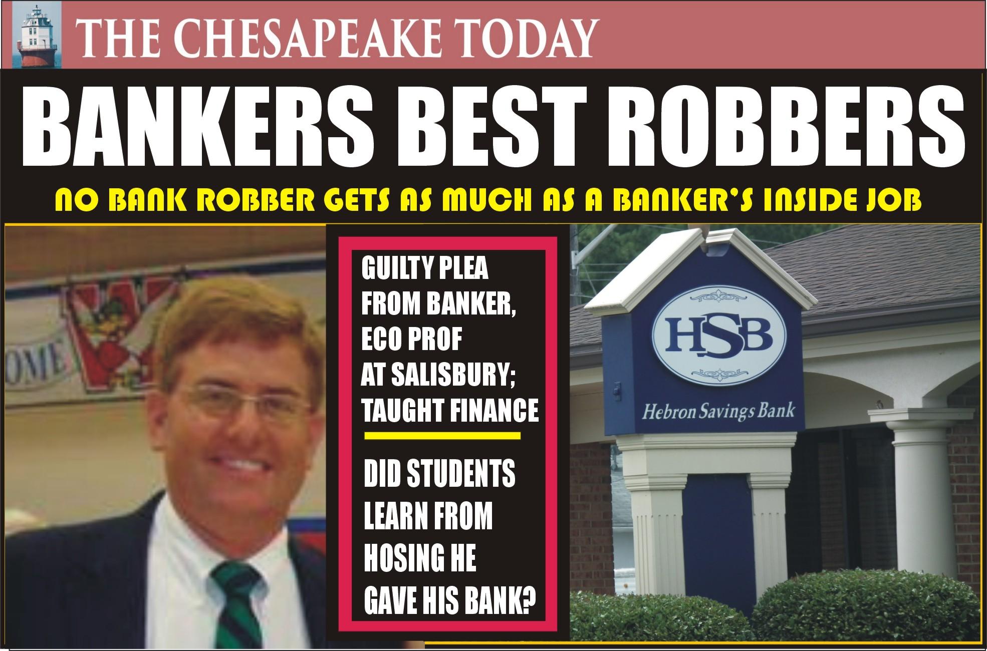 BANK FRAUD:  Fleecing the bank was easier for Salisbury Economics Professor Brian Twilley as he was on the Hebron Savings Bank board of directors