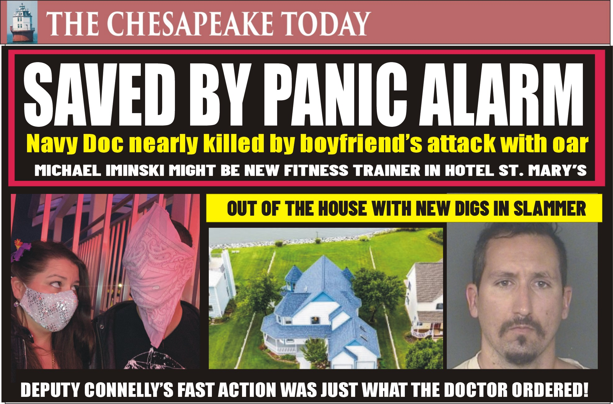 ASSAULT & MAYHEM: When Dr. Randal Cieslak was nearly choked to death by her boyfriend crushing her throat with an oar, only a key Fob panic alarm saved her life