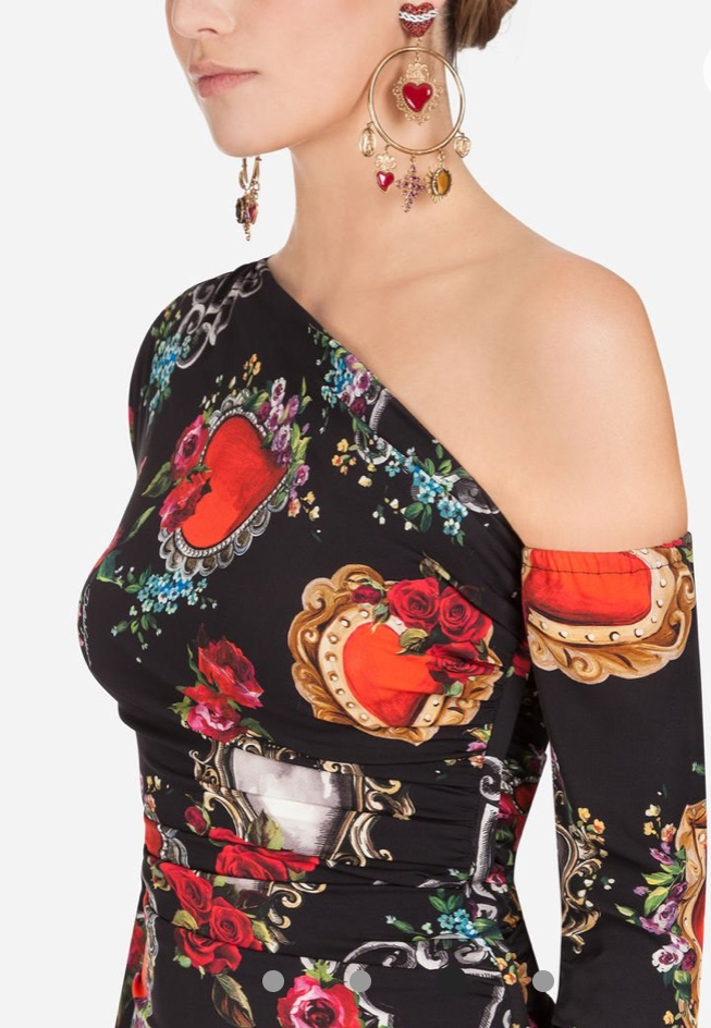 Abito one shoulder and half Dolce&Gabbana