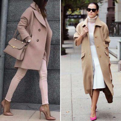 Camel coat e colori neutri