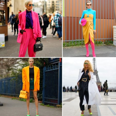 Colori fluo outfit colorblock gmstyle photography the chic jam fashion week
