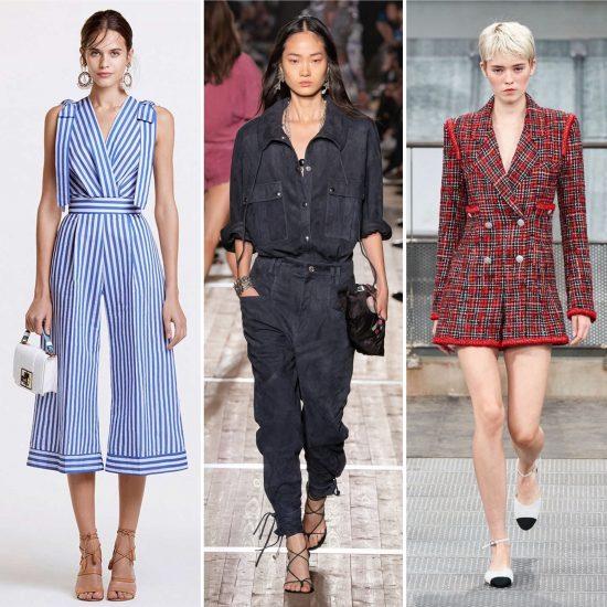 Jumpsuit Elisabetta Franchi Isabel Marant Chanel tendenze moda 2020