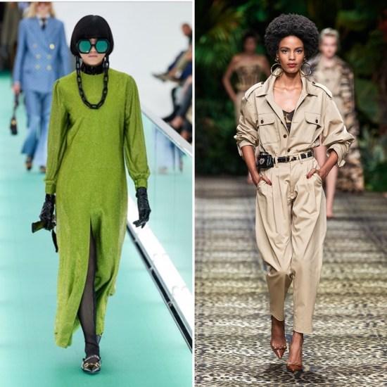 Gucci Dolce&Gabbana the chic Jam primavera estate 2020 tendenze moda