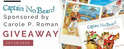 Captain No Beard Series, by Award-Winning Author Carole P. Roman | Giveaway