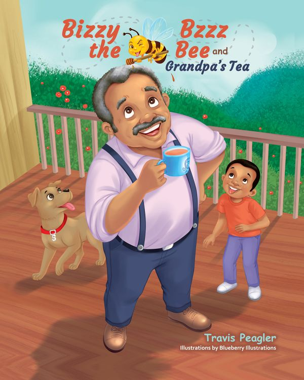 Bizzy Bzzz the Bee and Grandpa's Tea