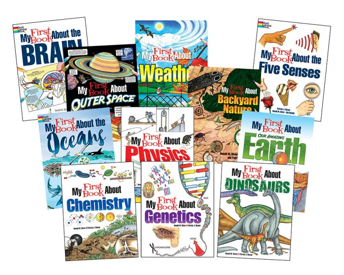 My First Book of Science Series Covers