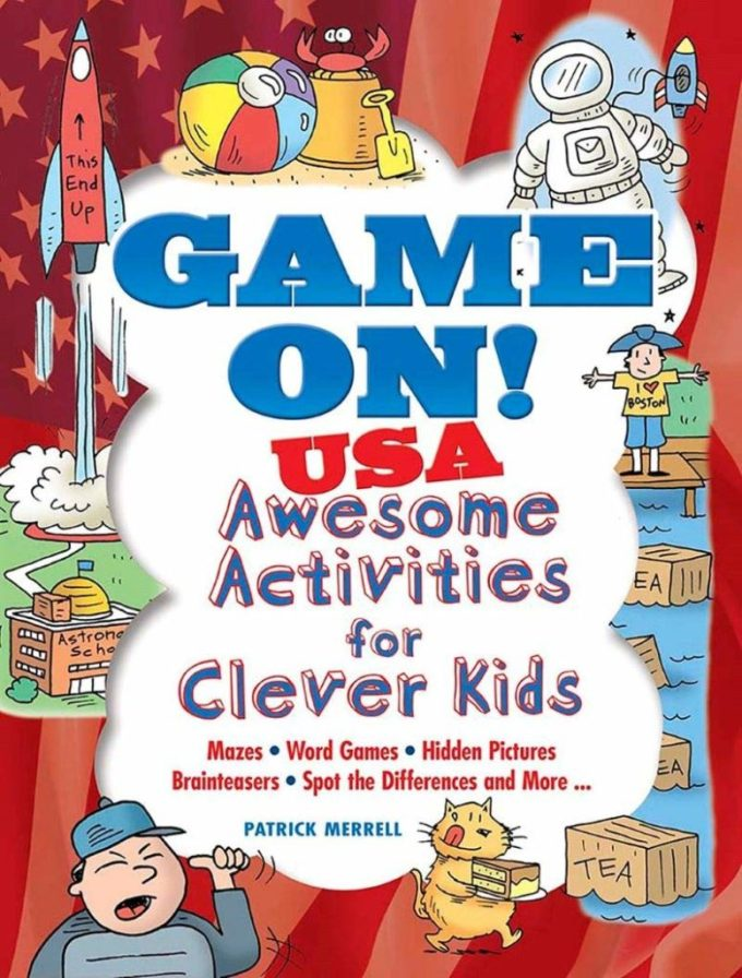 Game On USA Activities for Kids Cover