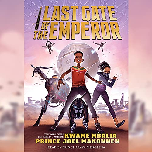 LAST GATE OF THE EMPEROR Audiobook Cover