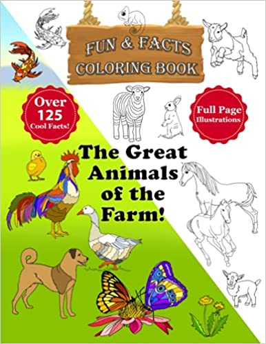 The Great Animals of the Farm Coloring Book