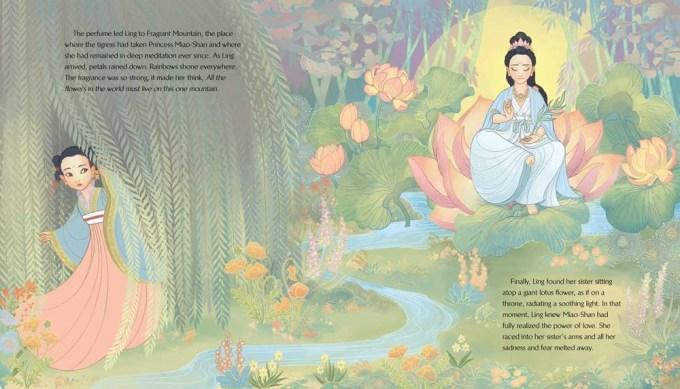 Kuan Yin The Princess Who Became the Goddess of Compassion Illustration