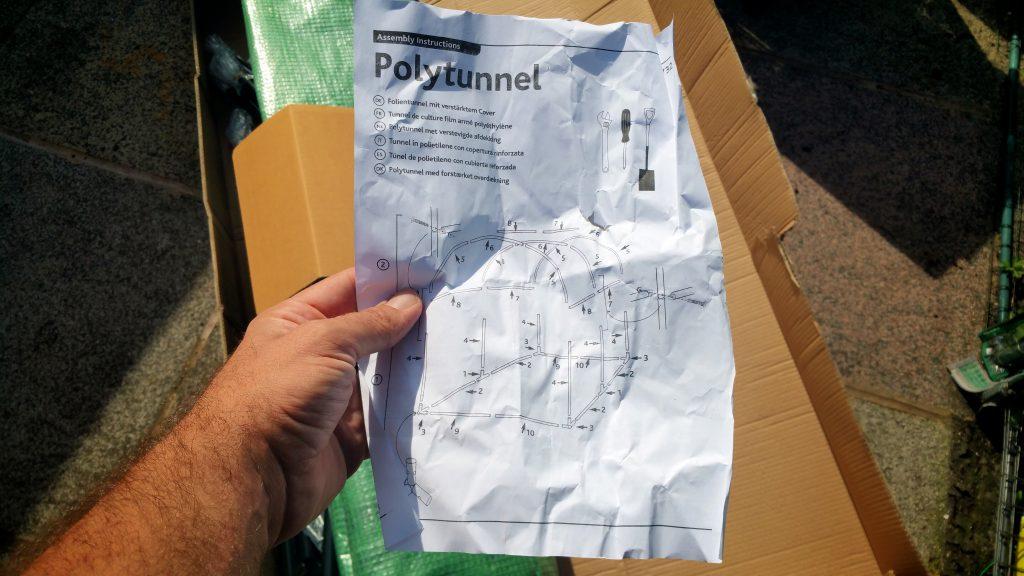 Gardman 08732 Polytunnel Review The Chilli Diaries
