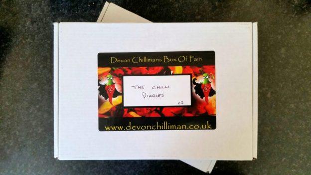 Devon Chilli Man Box of Pain