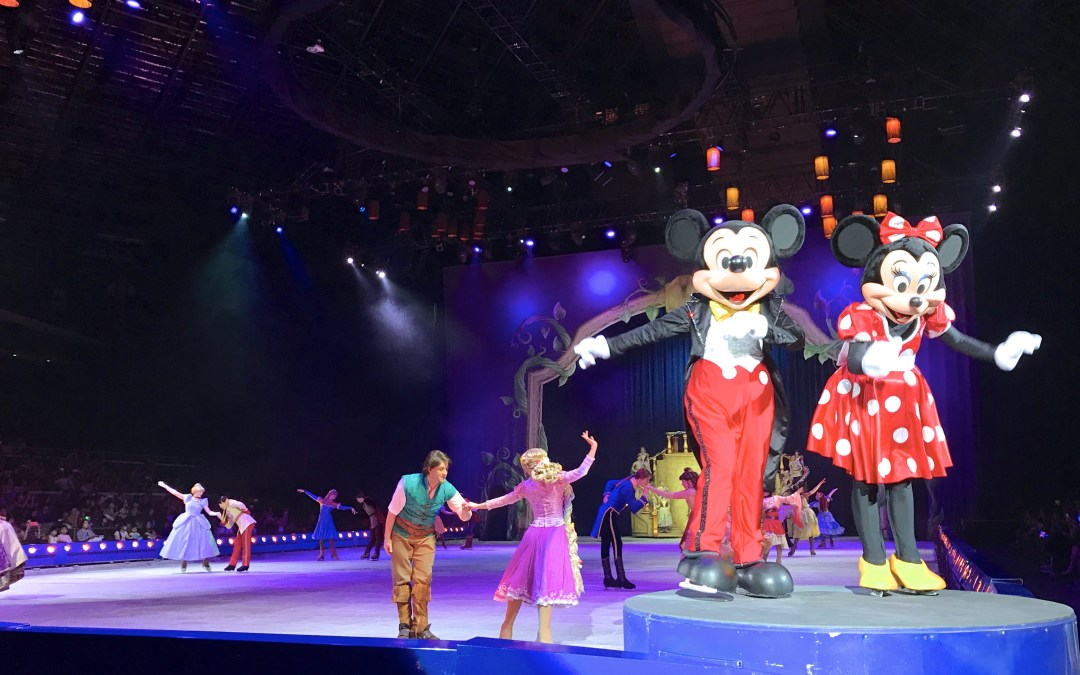 Magical Moment at Disney On Ice