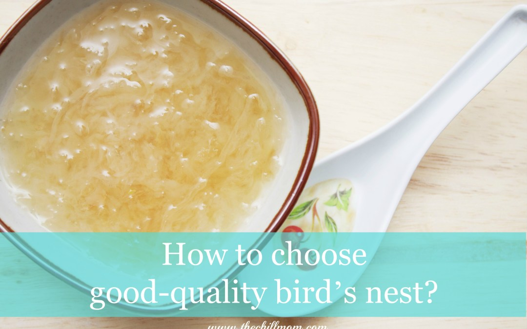Don't Buy Bird's Nest Without Reading This