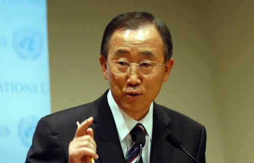 Ban Ki-moon to Succeed Himself