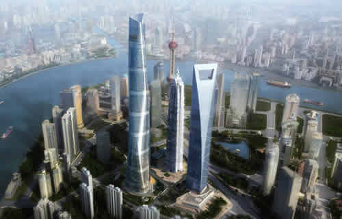 China Will Build 800 Skyscrapers Over 152 Meters by 2016