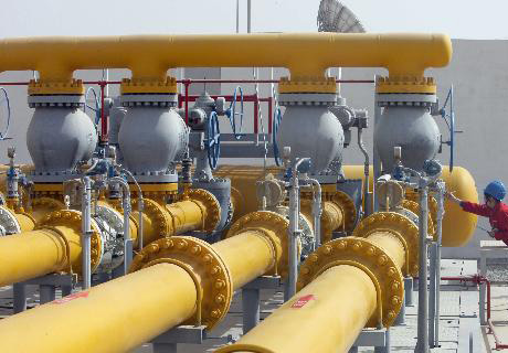 China's natural gas imports up 66.7 pct in January