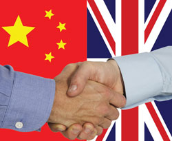 Chinese and British leaders exchange congratulations on 40th anniversary of diplomatic relations