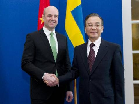 Wen Jiabao: China to promote cooperation with Sweden in sustainable development