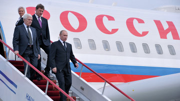 Putin arrives in China for a state visit