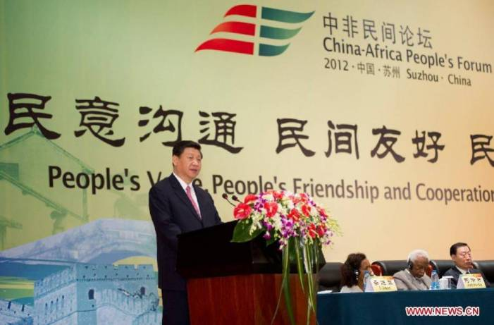 Xi Jinping praises mutually beneficial cooperation between China and Africa