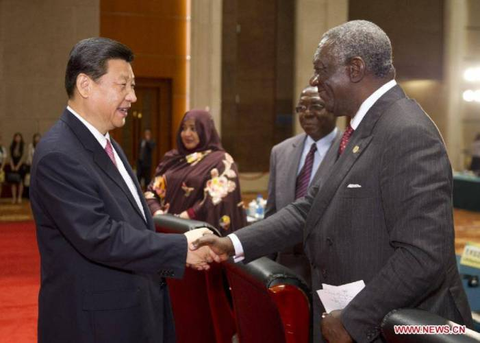 Xi Jinping addresses opening ceremony of China-Africa People's Forum