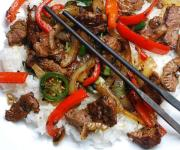 Mongolian Stir-Fried Lamb with Cumin Recipe