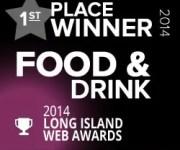 WINNER 2014 Long Island Best Website Award!