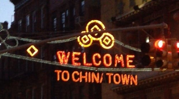 Welcome to Chinatown Manhattan New York City
