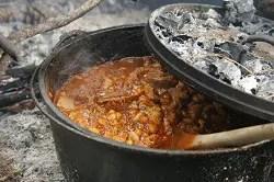 Dutch Oven Campfire