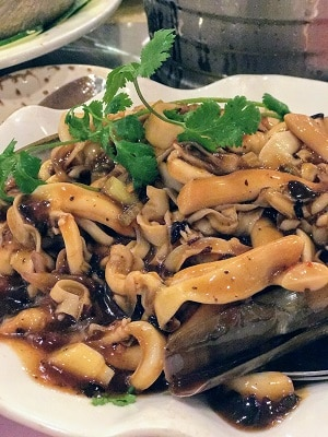 Sauteed-Razor-Clam-with-Black-Bean-Sauce