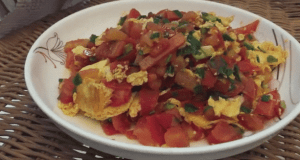 Fried-Eggs-Tomatoes