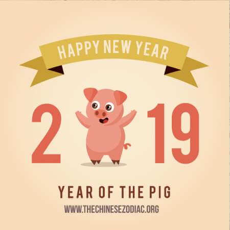 chinese new year 2019 year of the earth pig