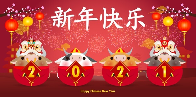 Chinese New Year 2021 - Spring Festival Celebration