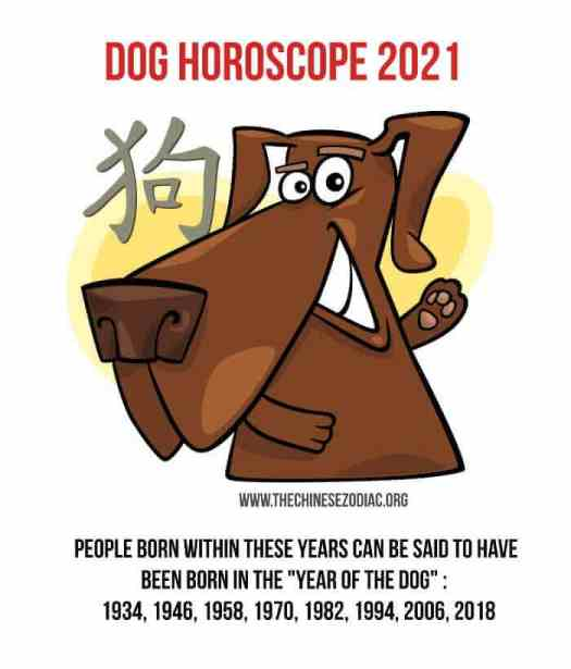 year of the dog 2021 horoscope