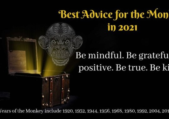 Year of the Monkey – 2021 Horoscope & Feng Shui Forecast