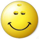 smiling bowling ball