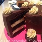 Millionaire's Shortbread Layer Cake
