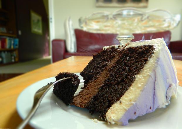 Nutella Birthday Cake Slice