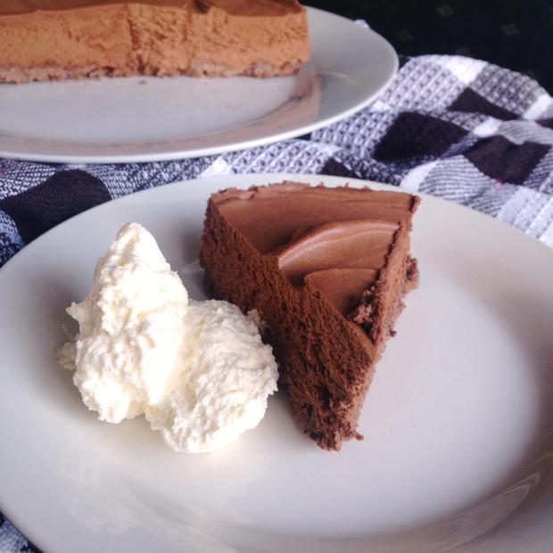 Mint Chocolate Cheesecake